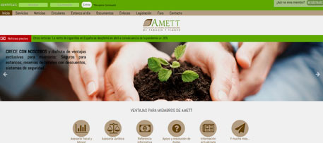 Branding y web de Asociación de Estanqueros de Madrid