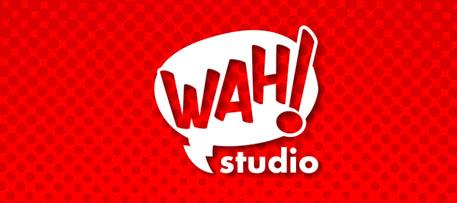 Landing page a medida para estudio de desarrollo de juegos de mesa Wah! Studio