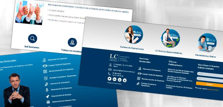 Diseño Web WordPress Legorburo Consultores